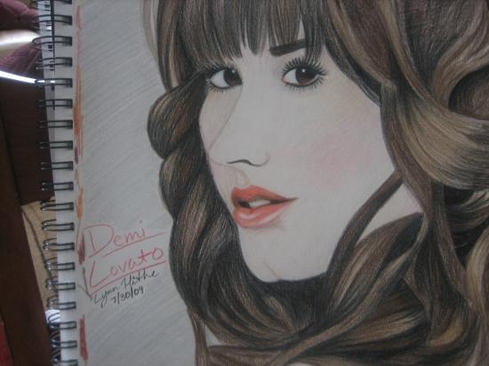 Demi Lovato por CelebPortraits07